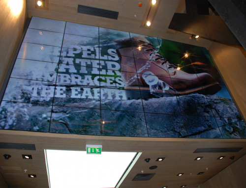 Timberland – Video Wall